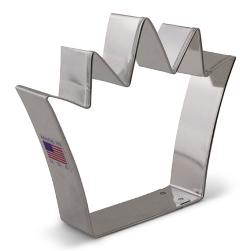 AC King Crown Cookie Cutter 7976A