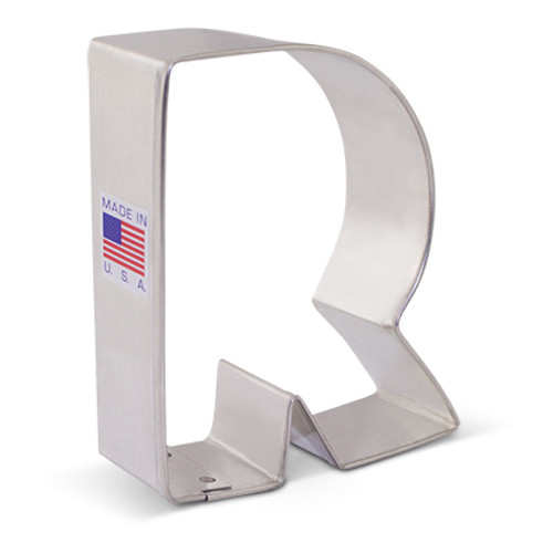 AC Letter R Cookie Cutter 1592A
