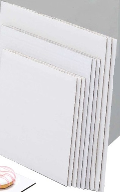 8in Single Wall Corrugated Square Cake Board