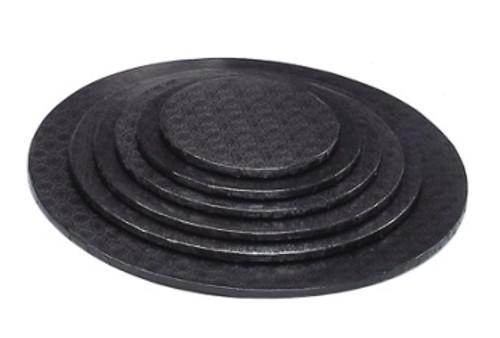 6in Black HD Round Drum