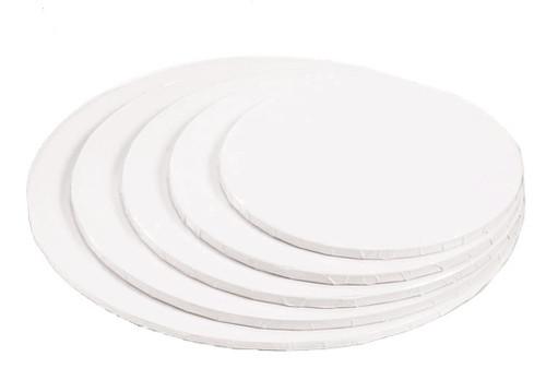 6in White HD Round Drum