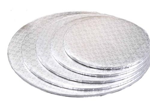 8in Silver HD Round Drum