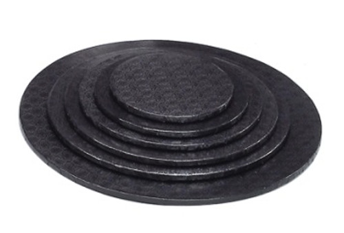 8in Black HD Round Drum