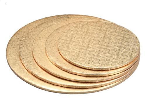 8in Gold HD Round Drum