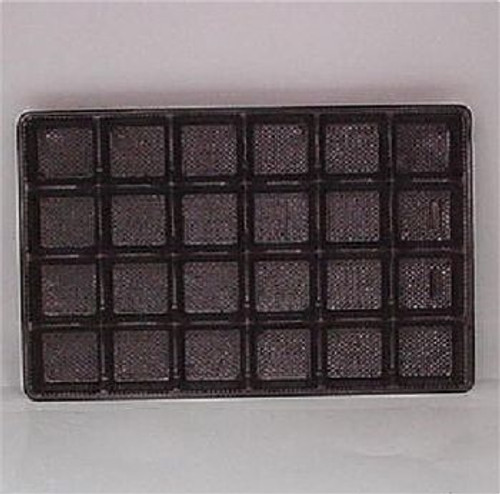 Brown Candy Tray Insert 24 Cavity