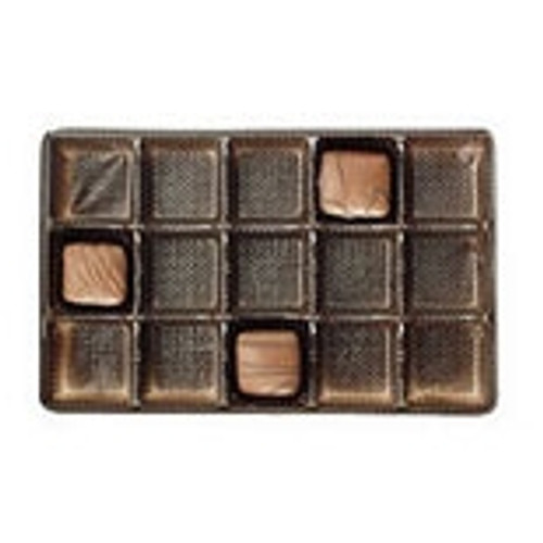 Brown Candy Tray Insert 15 Cavity