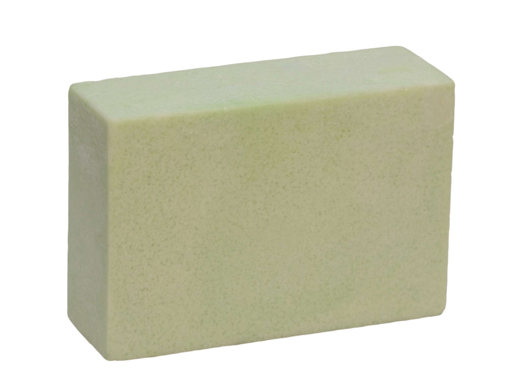 Lemon Ironbark Sea Salt Soap.  Australian Sea Salt is rich in minerals, including calcium, potassium, iron and sulphur and has been shown to be very beneficial for eczema and psoriasis sufferers. It is also exfoliating and leaves skin with a healthy even tone and feel. Coconut oil lathers in salt water.