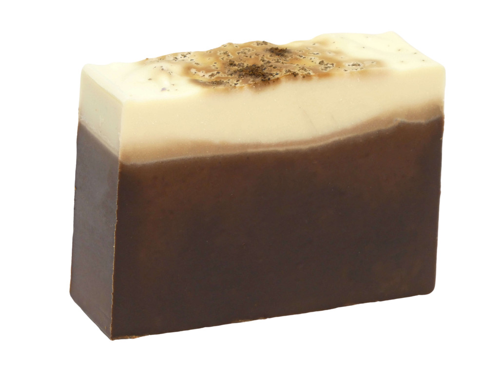 Turkish Mocha Soap, deliciously smooth mix of cocoa, vanilla, honey and Turkish coffee. You will want to eat this.