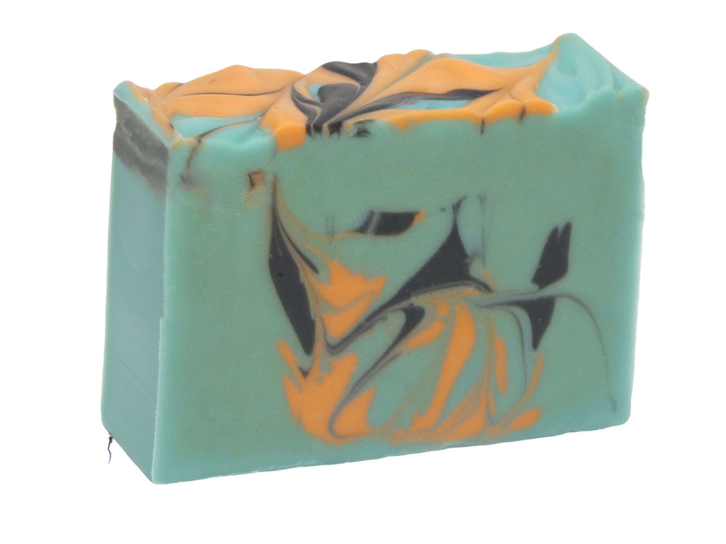 Tuscany Soap, beautiful blend of mandarin, patchouli and petitgrain essential oils.