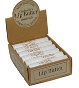 Lip Butter Vanilla. An all-day essential for your lips, keeping them protected and moisturised. Our Lip Butters are also fantastic to apply before you go to bed for overnight re-hydration. They may also be applied before your lipstick. Check our essential range of lip butters.