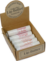 Lip Butter Orange . An all-day essential for your lips, keeping them protected and moisturised. Our Lip Butters are also fantastic to apply before you go to bed for overnight re-hydration. They may also be applied before your lipstick. Check our essential range of lip butters.
