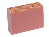 Rose Gold Soap sweet soft blend of coconut, berries, roses, vanilla and amber, just lovely.