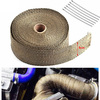 Header Exhaust Intake Thermal Heat Tape with Ties