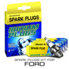 Iridium Performance Spark Plug Set for Ford