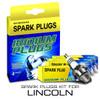 Iridium Performance Spark Plug Set for Lincoln