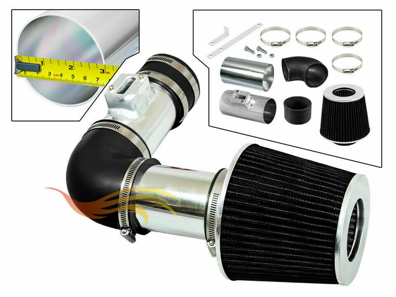 Performance Air Intake For Acura Rdx 2007 2011 With 2 3l Dohc Turbo Engine Performance Chip Tuning