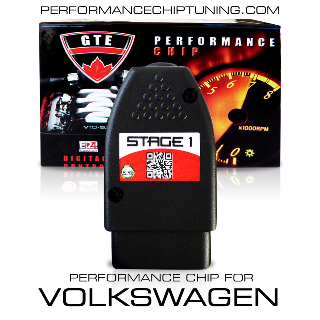 Performance Chip Tuning Box OBD2 for all Volkswagen VW