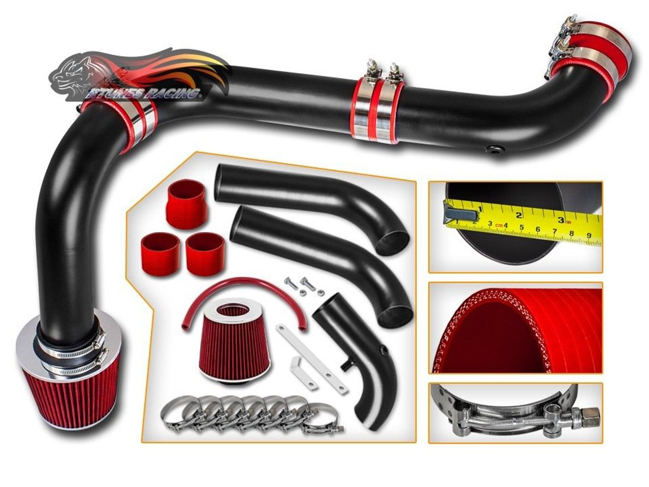 Cold Air Intake For Dodge Ram 1500 5 7 Hemi >> Cold Air Intake Kit For Dodge Ram 1500 2500 3500 Hemi 2003 2008 With 5 7l V8 Engine