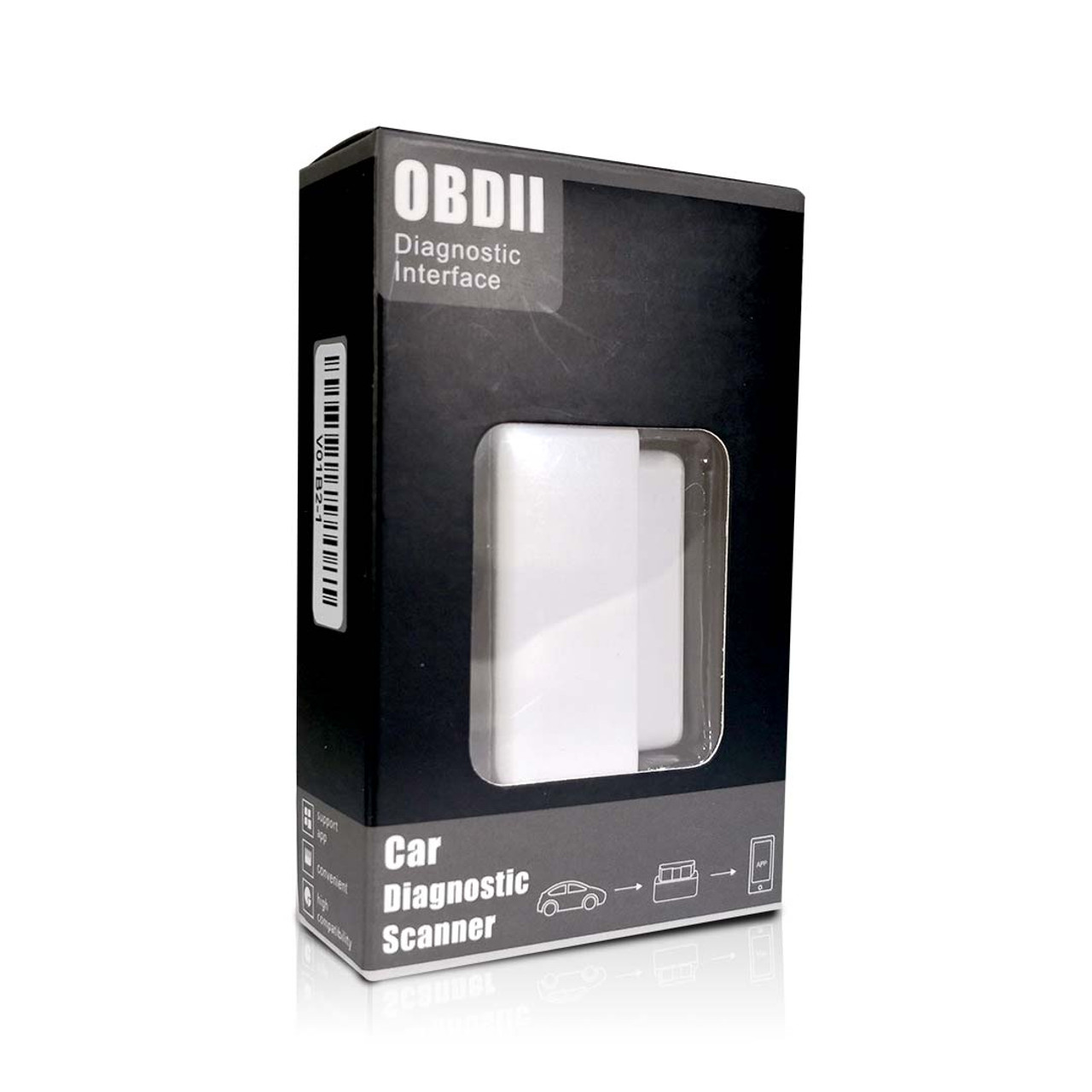 OBD2 Bluetooth Car Code Reader Diagnostic Scanner For Android PC