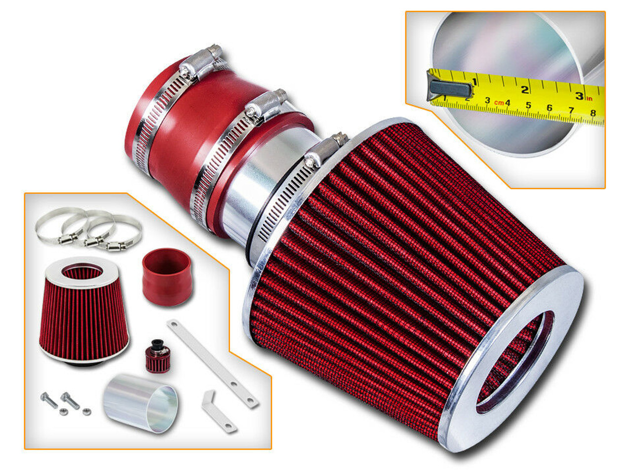 Cold Air Intake for VW Jetta, Golf, Beetle (1999-2005) 1.8L / 1.9L / 2.0L /  2.8L Engines - Performance Chip Tuning | 99 Jetta 2 0 Engine Diagram Intake |  | Performance Chip Tuning