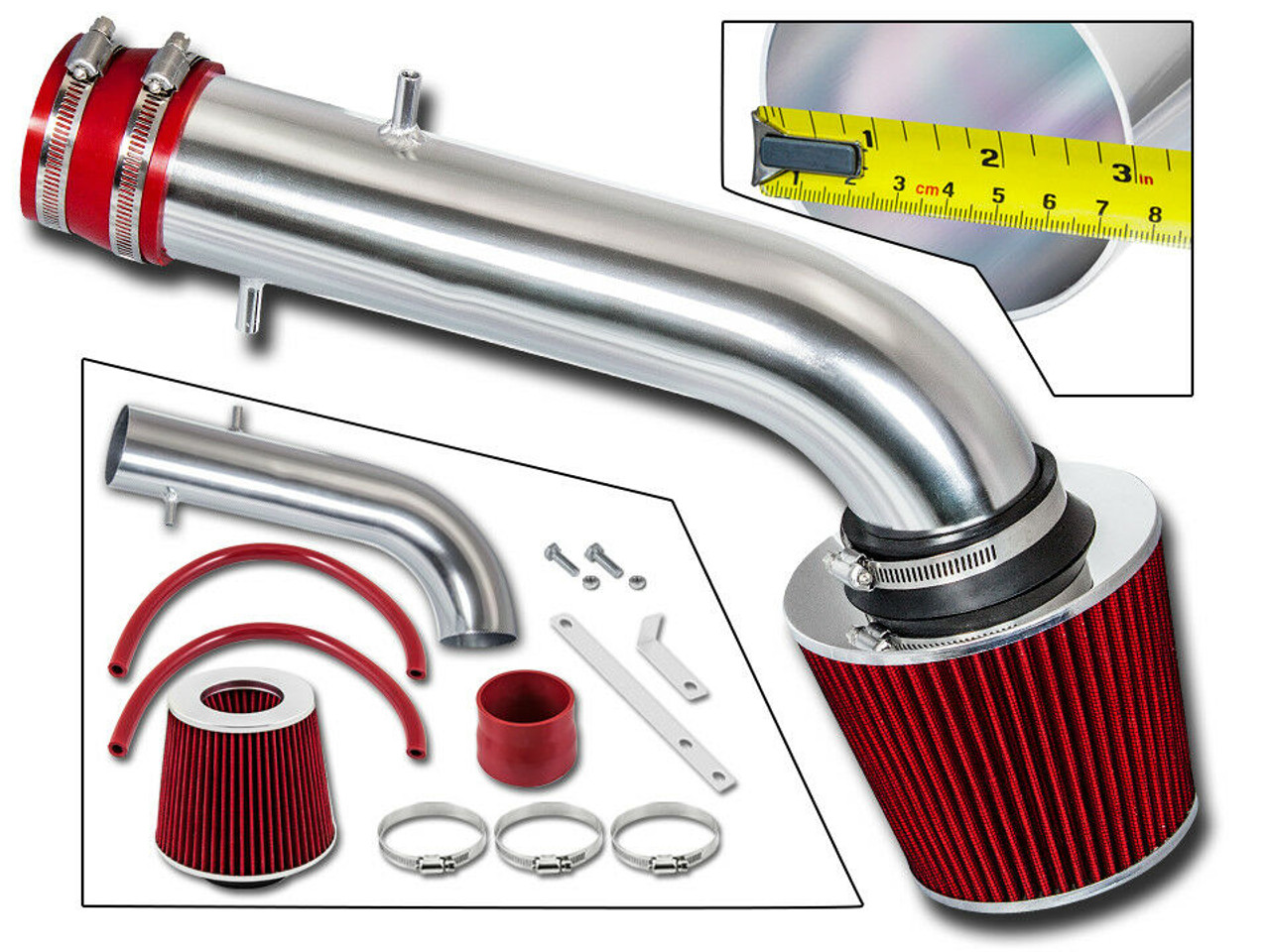 Cold Air Intake For Acura Cl Base Model 1997 1999 3 0l V6 Engine Performance Chip Tuning