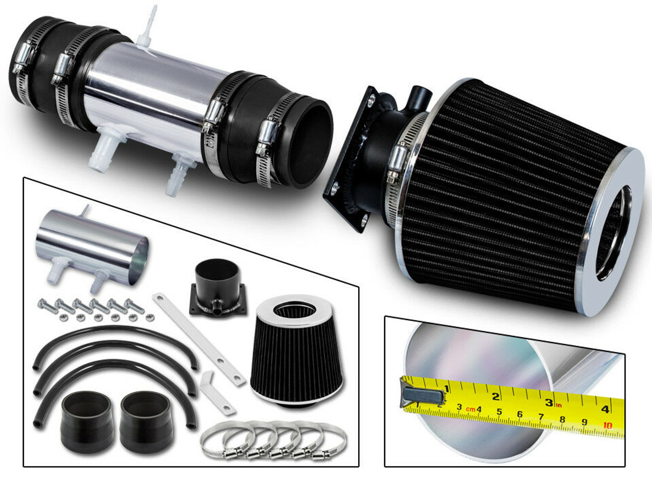 fit 1995-1999 NISSAN MAXIMA 3.0L V6 COLD AIR INTAKE KIT SYSTEMS