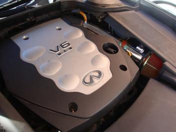 Air Intake Kit for Infiniti M35 Sedan 2006-2008 3.5L V6 Engine Black