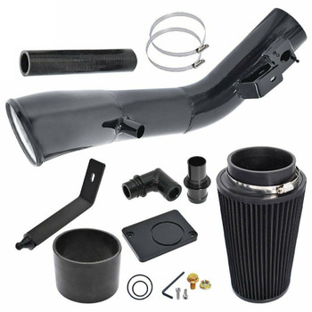 Cold Air Intake for Ford F-250/F-350 Excursion (2003-2007) 6.0L Powerstroke Diesel Engines Black