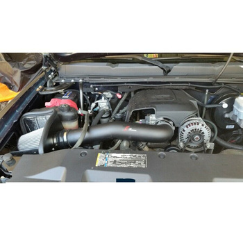 Cold Air Intake Kit for GMC Yukon (2009-2014) with 4.8L / 5.3L  V8 Engine Black Stage2