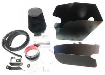 Cold Air Intake W/Heat Shield  For Ford Super Duty F-350/F-450 (2008-2010) 6.4L V8 Engine Black