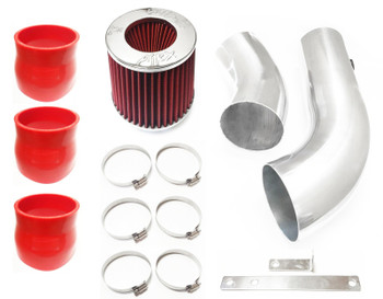 Performance Air Intake For GMC K2500 Suburban (1996-1999) With 5.0L 5.7L V8 Engine Red