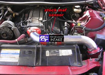 Performance Air Intake For Pontiac Firebird Formula (1994-1997) With 5.7L V8 Engine Red