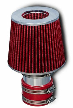 Short Ram Air Intake for Volkswagen Corrado (1992-1994) with 2.8L VR6 Engine Red