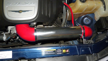 Cold Air Intake for Chrysler 300/300C (2005-2010) with HEMI 5.7L 6.1L Engines Red