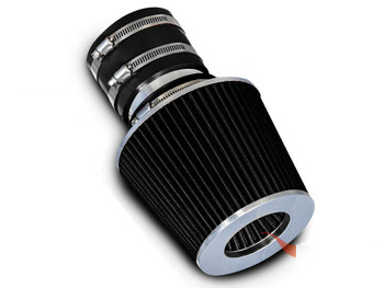 Performance Air Filter for Kia Spectra 5 2005-2009 with 2.0L L4 Engine Black