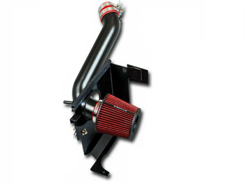 Performance Air Intake w/Heat Shield for Chrysler 300 (2005-2010)  with 3.5 V6 Engine Red