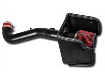 Cold Air Intake W/Heat Shield for Nissan X-Terra 2005-2015 with 4.0L V6 Engine Black