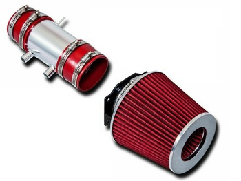 Cold Air Intake for Nissan Frontier (1999-2004) 3.3L V6 Naturally Aspirated & Supercharged Engines Red