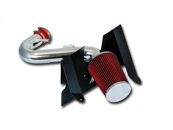 Cold Air Intake W/Heat Shield for Ford Mustang (2005-2009) with 4.0L V6 Engine Red