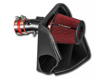 Performance Air Intake W/Heat Shield For Nissan Altima (2007-2012) with 3.5L V6 Engine Red