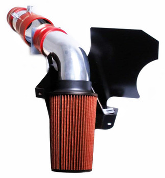 Cold Air Intake W/Heat Shield For Ford F-250/F-350/F-550 (1999-2003) with 6.8L V10 SOHC Engine Red