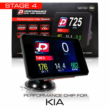Stage 4 Performance Chip Module OBD2 +LCD Monitor for KIA 2008+