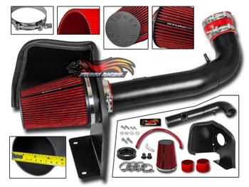 RED AIR INTAKE KIT SYSTEM FOR 2014-2018 ACURA TLX 2.4 2.4L L4 ENGINE