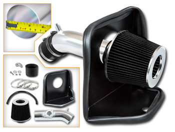 Cold Air Intake Kit for Mazda 3 (2014-2017) with 2.5L 4 Cylinders Engine Black