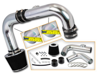 Black Cold Air Intake Kit for Chevrolet Cruze (2011-2015) with 1.4L DOHC Turbo Engine