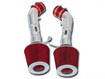 Cold Air Intake Kit for Nissan 370Z (2009-2019) with 3.7L V6 Engine Red