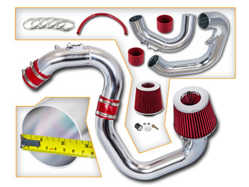 Cold Air Intake Kit for Mazda 3 (2004-2009) with 2.0L / 2.3L 4-Cylinder Engine Red