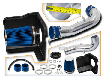 Cold Air Intake for Chevy Suburban (2007-2008) 1500 5.3L & 6.0L V8 Engine / 2500 6.0L V8 Engine (DS-BHI-CD02-BL)