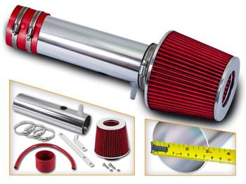 Black Red For 1999-2001 Isuzu VehiCROSS  3.5L V6 Air Intake Kit Filter
