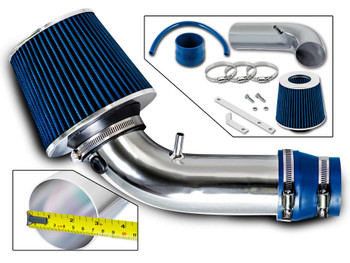 Black Blue Air Intake /& Filter For 2011-2015 Accent Veloster Elantra Rio 1.6 1.8